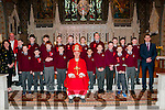 Scoil Realta na Madna Confirmation : Pupils from Scoil Realta Ma Madna, Listowel who were confirmed in St Mary's Church, Listowel by Bishop Ray Browne on Friday last.