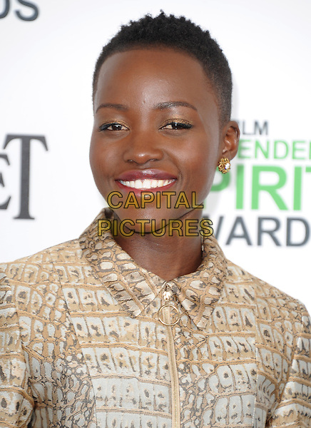 Lupita Nyong'o attends The 2014 Film Independent Spirit Awards held at Santa Monica Beach in Santa Monica, California on March 01,2014                                                                                <br /> CAP/DVS<br /> &copy;Debbie VanStory/Capital Pictures