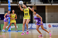 Pulse&rsquo; Whitney Souness in action during the ANZ Premiership - Pulse v Northern Stars at Te Rauparaha Arena, Porirua, New Zealand on Monday 25 June 2018.<br /> Photo by Masanori Udagawa. <br /> www.photowellington.photoshelter.com