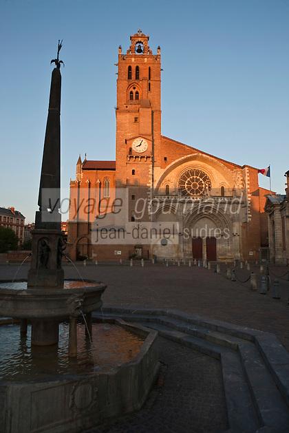 Europe/France/Midi-Pyrénées/31/Haute-Garonne/Toulouse: Cathédrale Saint-Etienne