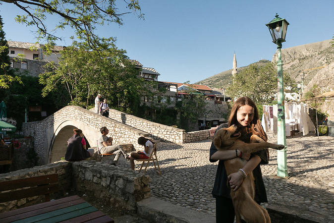 Old town in Mostar.
