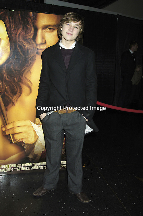 """Actor William Moseley of Narnia ..at a Special Screening of """" Casanova"""" on December 11, 2005 at The Loews Lincoln Square Theatre. ..Photo by Robin Platzer, Twin Images"""