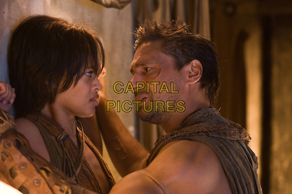 CYNTHIA-ADDAI ROBINSON, MANU BENNETT.in Spartacus: Vengeance (Spartacus: Blood and Sand).*Filmstill - Editorial Use Only*.CAP/FB.Supplied by Capital Pictures.