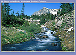 Mount Neva, Indian Peaks Wilderness Area.<br />