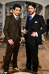 """Jaime Lorente and Angel de Miguel during the presentation of the new characters for the new season of the tv series """"El Secreto de Puente Viejo""""  in Madrid, February 10, Madrid."""