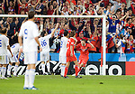 Konstantin Zyryanov scores 1-0 against Greece at Euro 2008, RUS-GRE, 06142008, Salzburg, Austria