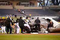 July 7, 2015: San Diego Padres vs Pittsburgh Pirates