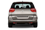 Straight rear view of a 2006 - 2012 Citroen C4 Picasso Business Mini MPV.