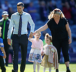 12.05.2019 Rangers v Celtic: Jamie Murphy and kids