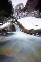 Vernal Falls - Yosemite National Park, California.