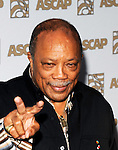 Quincy Jones at the 2009 ASCAP Pop Awards at the Renaissance Hotel in Hollywood, April 22, 2009...Photo by Chris Walter/Photofeatures.