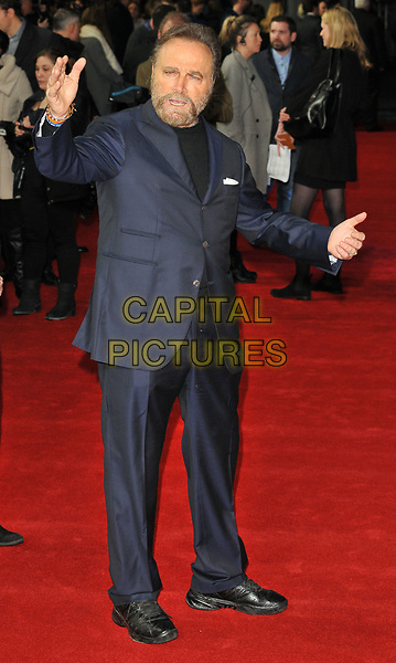 Franco Nero at the &quot;The Time of Their Lives&quot; world film premiere, Curzon Mayfair cinema, Curzon Street, London, England, UK, on Wednesday 08 March 2017.<br /> CAP/CAN<br /> &copy;CAN/Capital Pictures