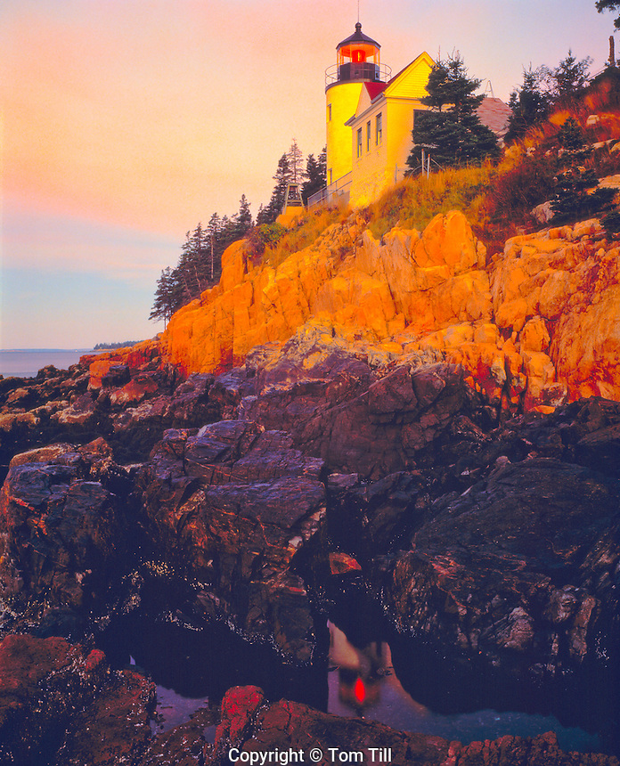 Bass Harbor Light, Acadia National Park, Maine Mount Desert Island   Built 1858