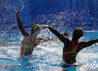 Roma 20th July 2009 - 13th Fina World Championships From 17th to 2nd August 2009..Rome (Italy) 20 07 2009..Synchronized swimming - Technical duet preliminaries..Team Indonesia......photo: Roma2009.com/InsideFoto/SeaSee.com