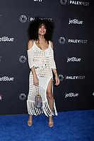"LOS ANGELES - MAR 23:  Indya Moore at the PaleyFest - ""Pose"" Event at the Dolby Theater on March 23, 2019 in Los Angeles, CA"