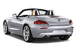 Car pictures of rear three quarter view of a 2014 BMW Z4 sDrive35i Lounge 2 Door Convertible 2WD Angular Rear