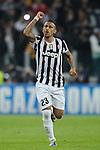 IM Torino 05-11-2013 Juventus Stadium<br /> Champions League 2013/2014<br /> Juventus Vs Real Madrid<br /> nella foto Vidal esultanza<br /> foto Marco Iorio