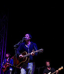 Joshua Radin performs at the Balboa Beach Music Fest October 13, 2012.
