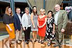 Enjoying the Tralee Musical Society 30th anniversary Gathering at Ballyroe Heights Hotel on Saturday were Anna Curtin, Johnny Burrows, Kathleen Burrows, Jemma Hurley, Diana Curtin, Ena O'Shea and John O'Shea