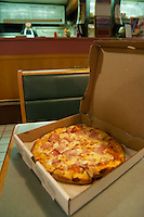 Small pizza from in Falmouth, Cape Cod