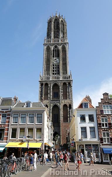 Nederland Utrecht 2015 08 08 . De Domtoren in Utrecht