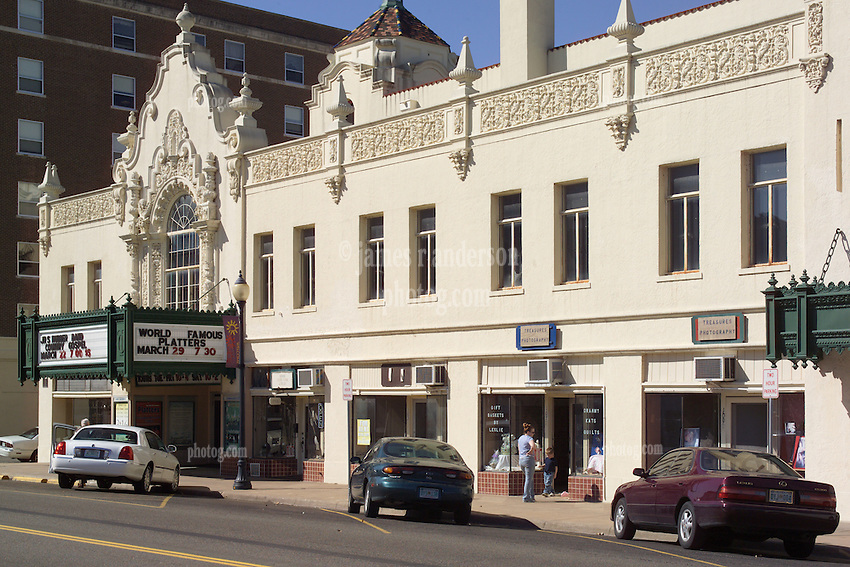 Front Elevation, The Historic Coleman Theater, North Main Street, Old Route 66, Miami OK