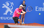 26.04.2014 Barcelona, Spain. ATP500 , Barcelona Open Banc Sabadell. Semi-final. Picture show Santiago Giraldo (COL) in action at central court
