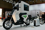 Honda EVE-neo on display during the first press day for the 41th Tokyo Motor Show, 21 October 2009 in Tokyo (Japan). The TMS will be open for the public from 23 October 2007 to 4 November 2009.