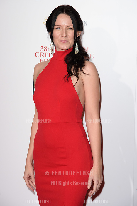 Mhairi Calvey at the 38th Annual London Critics' Circle Film Awards at the Mayfair Hotel, London, UK. <br /> 28 January  2018<br /> Picture: Steve Vas/Featureflash/SilverHub 0208 004 5359 sales@silverhubmedia.com