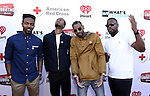 """BURBANK, CA - APRIL 20:  The cast of DormtainmentTV attends What's Trending's Fourth Annual Tubeathon Benefitting American Red Cross at iHeartRadio Theater on April 20, 2016 in Burbank, California.  (Photo by Vivien Killilea/Getty Images for iHeartMedia)"""