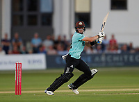 Ollie Pope bats for Surrey during Kent Spitfires vs Surrey, Vitality Blast T20 Cricket at the St Lawrence Ground on 23rd August 2019