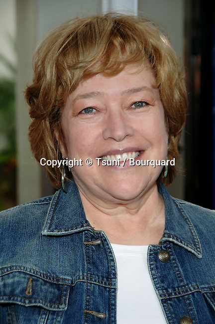 Kathy Bates  arriving at the CHARLOTTE'S WEB Premiere at the Arclight  Theatre In Los Angeles.<br /> <br /> headshot<br /> eye contact<br /> smile