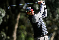 Daniel Pearce during the Charles Tour Augusta Funds Management Ngamotu Classic, Ngamotu Golf Course, New Plymouth, New Zealand, Thursday 12 October 2017.  Photo: Simon Watts/www.bwmedia.co.nz
