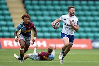 Max Wright of Bath Rugby in action. Premiership Rugby 7s (Day 2) on July 28, 2018 at Franklin's Gardens in Northampton, England. Photo by: Patrick Khachfe / Onside Images