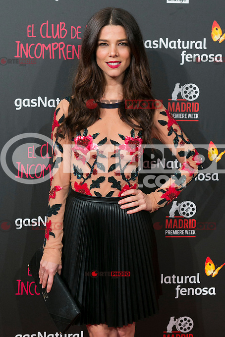 Juana Acosta attend the Premiere of the movie &quot;El club de los incomprendidos&quot; at callao Cinema in Madrid, Spain. December 1, 2014. (ALTERPHOTOS/Carlos Dafonte) /NortePhoto<br />