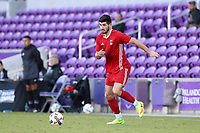 Orlando, Florida - Monday January 15, 2018: Jon Bakero. Match Day 2 of the 2018 adidas MLS Player Combine was held Orlando City Stadium.