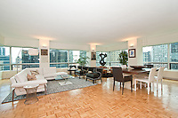 Living Room at 500 Park Avenue