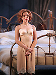 Scarlett Johansson during the Broadway Opening Night Performance Curtain Call for 'Cat On A Hot Tin Roof' at the Richard Rodgers Theatre in New York City on 1/17/2013