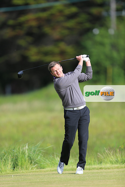 Alex McCloy (Ballymena)<br /> during R1 of the East of Ireland Amateur Open championship 2013 at Co Louth Golf club, 1/6/13<br /> Picture:  Fran Caffrey / www.golffile.ie