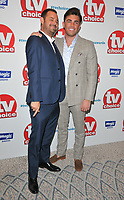 Danny Dyer and Jack Fincham at the TV Choice Awards 2018, The Dorchester Hotel, Park Lane, London, England, UK, on Monday 10 September 2018.<br /> CAP/CAN<br /> &copy;CAN/Capital Pictures