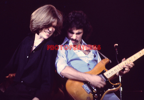 Hall & Oates 1977 Daryl Hall and John Oates.© Chris Walter.