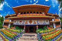 Tibet-Lhasa-Norbulingka Palace