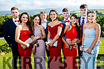 Barry Mahony, Shona Bunyan, Roisin Teague, Gerard Leen, Ruby O'Riordan, Gary Carey, Iraide Maza, Cormac Slattery and Valerie Kiely, pictured at Causeway Comprehensive School Debs, at Ballyroe Heights Hotel, Tralee, on Wednesday, August 9th last,