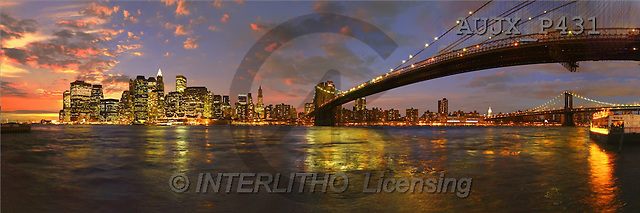 Dr. Xiong, LANDSCAPES, panoramic, photos, Manhattan night views, NY, USa(AUJXP431,#L#)
