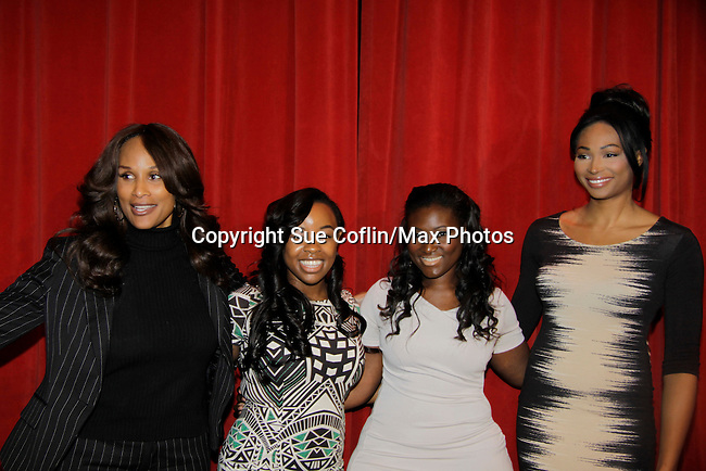 Beverly Johnson - Danika Fraley - Melanie Martin - Nana Meriwether on a panel at Color of Beauty recognizes stylish people of color with a one-day event featuring topical panel discussions followed later tonght with a red carpet awards ceremony. The event was on February 4, 2014 at New York University, New York City, NY. (Photo by Sue Coflin/Max Photos)