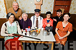 "The Abbeydorney Drama Group launch their play ""The Real McCoy"" in the Abbeydorney Community Centre on Friday night.<br /> Seated:  Anna Curtin (Madge),Brendan O'Halloran (Chairman Abbeydorney Drama), John Michael Fitzgerald (Martin Daly), Peggy O'Halloran (Nora O'Hora) and Christine Buckley (Maura). Back: Liam Gowan (Producer/Director) and  Mike Carroll (Fr McCoy)"