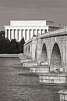 Memorial Bridge Lincolcn Memorial Washington DC