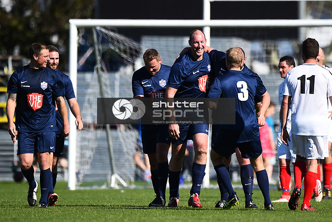 NELSON, NEW ZEALAND - Get Bullsy Charity Football Match. Trafalgar Park, Nelson, New Zealand. Saturday 29 September 2018. (Photo by Chris Symes/Shuttersport Limited)