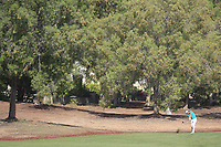 Lucas Bjerregaard (DEN) on the 14th fairway during the final round of the DP World Tour Championship, Jumeirah Golf Estates, Dubai, United Arab Emirates. 18/11/2018<br /> Picture: Golffile | Fran Caffrey<br /> <br /> <br /> All photo usage must carry mandatory copyright credit (© Golffile | Fran Caffrey)