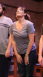 Julia Murney during the Off-Broadway Opening Night Performance Curtain Call for 'Falling' at Minetta Lane Theatre on October 15, 2012 in New York City.